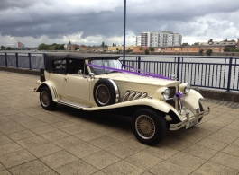 1930s style Beauford for wedding hire in London